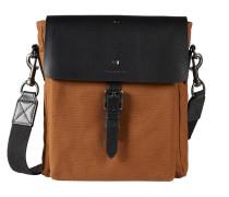 Messenger Bag cognac / schwarz