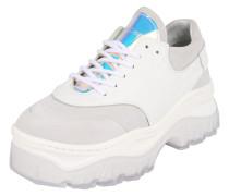 Sneaker 'Jaxstar' hellgrau / weiß