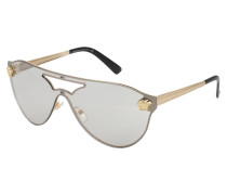 Casual Sonnenbrille gold / silber
