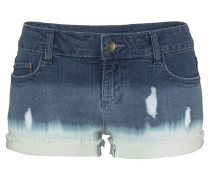 Hotpants blue denim / weiß