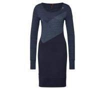Kleid 'viola' blau