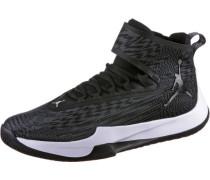 'jordan FLY Unlimited' Basketballschuhe Herren dunkelgrau / schwarz / weiß