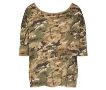 Shirt 'Vim loose r t wmn 1\2 slv' khaki