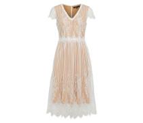 Kleid 'fivi3' nude / weiß