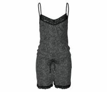 Kurzer Jumpsuit schwarz