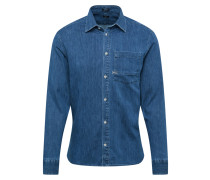 Hemd 'axel' blue denim