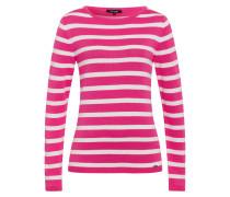 Ringelpullover rosa / weiß