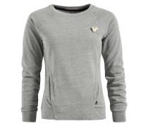 Sweatshirt 'sunti' grau