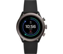 Smartwatch 'Ftw4019' greige / schwarz