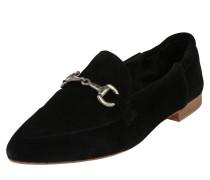 Loafer 'Jasmin buckle' schwarz