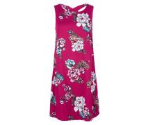 Kleid mischfarben / fuchsia
