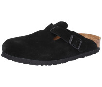 Clogs 'Boston' braun / schwarz