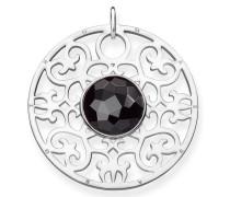Kettenanhänger 'Schwarzes Ornament Pe763-024-11'