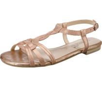 Komfort-Sandalen rosé