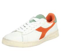 Sneaker 'game L LOW Used' orange / weiß