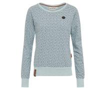 Sweatshirt mint / schwarz