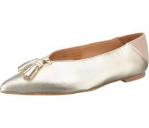 Ballerinas gold / altrosa