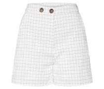 Shorts greige / weiß