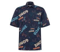 Hemd 'Thor shirt' dunkelblau