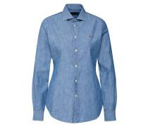 Shirt 'chambray' blau