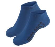 Socken himmelblau / schwarz