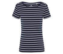Shirt 'ocs organic' navy / weiß