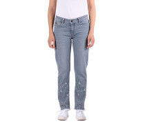 Jeanshose 'Slave' blue denim