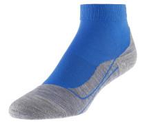 'ru4' Short Laufsocken Damen blau / grau