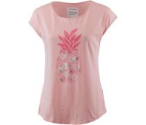 T-Shirt mischfarben / rosa