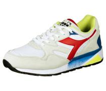 Sneaker 'n9002' beige / blau / rot / weiß