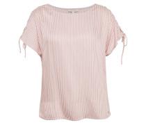 T-Shirt rosa / weiß