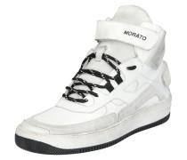 Sneaker 'Stroke' grau / weiß