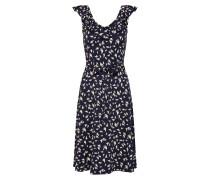 Kleid 'Vicky' beige / blau