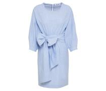 Kleid 'Phina' blau / weiß
