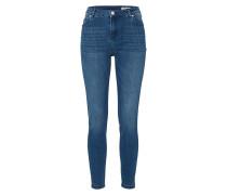 'HW Midblue' Skinny Jeans blue denim