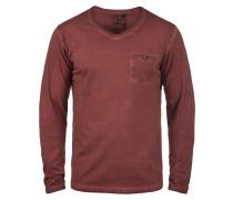 V-Shirt 'Terkel' rot