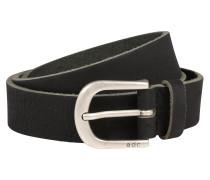 Gürtel 'Slim basic belt' schwarz