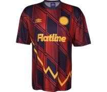 Fußballtrikot kobaltblau / rot