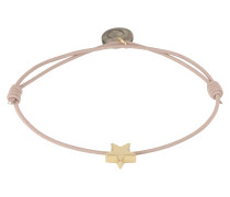 Armband 'Star' gold / taupe