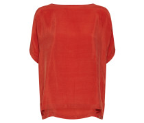 Bluse 'Somia' orangerot