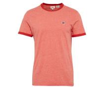 T-Shirt 'SS Bernal Ringer' rot
