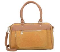 Handtasche 'Aquiles' braun / honig