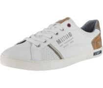 Sneaker 'easy going' braun / weiß