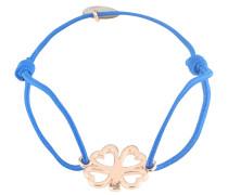 Armband 'Clover' blau / rosé