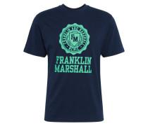 Shirt dunkelblau / grasgrün
