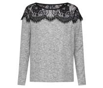 Shirt 'idaho' grau / schwarz