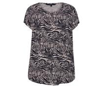 Shirt 'boca' schwarz / beige