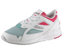 Keilsneaker mint / pink / weiß
