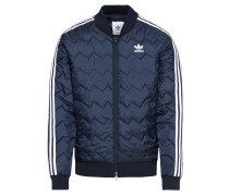 Jacke 'sst Quilted' navy