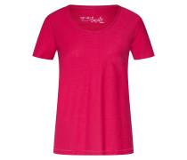 T-Shirt dunkelpink
